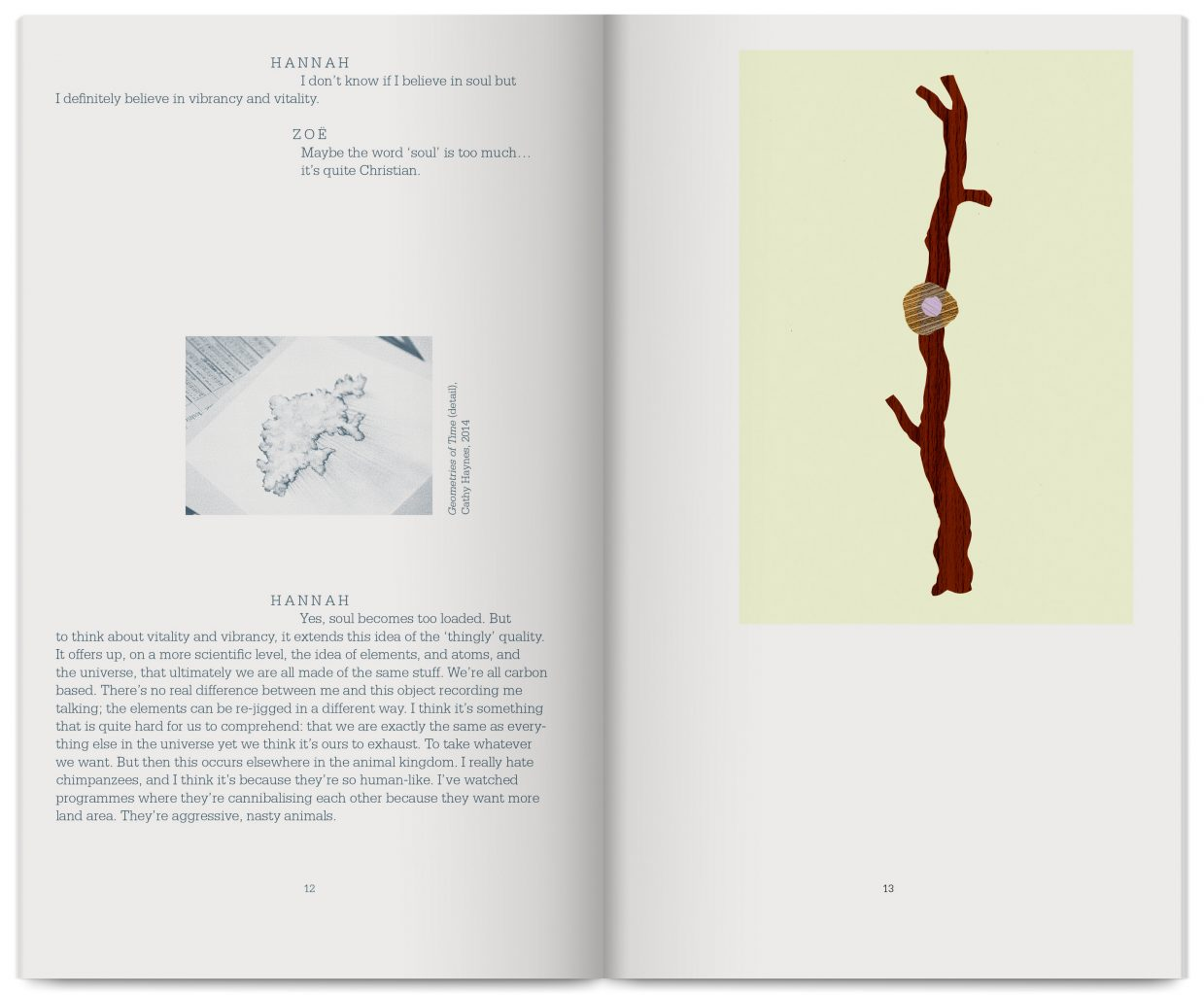 Overlay, publication edited by Jeremy Millar, published by White Rainbow Gallery, design by In the shade of a tree studio, founded by Sophie Demay and Maël Fournier Comte.